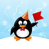Funny penguin Royalty Free Stock Photos