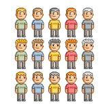Funny people of all colors Royalty Free Stock Images