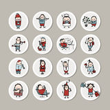 Funny people collection for your design. Vector illustration vector illustration