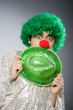 The funny person in saint patrick holiday concept Royalty Free Stock Photo
