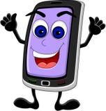 Funny phone cartoon Stock Photo