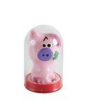 Funny pig shape condom Stock Photo