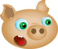 Funny pig Royalty Free Stock Image
