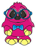 funny pink monster Royalty Free Stock Photo