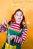 Funny Pippi Royalty Free Stock Photography