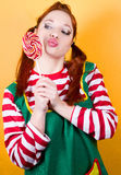 Funny Pippi Royalty Free Stock Image