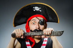 Funny pirate Royalty Free Stock Images