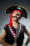Funny pirate Royalty Free Stock Image