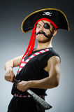 Funny pirate Stock Photography