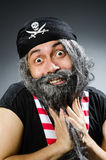 Funny pirate Stock Images