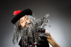 Funny pirate Stock Photo