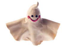 Funny plasticine ghost Stock Photography