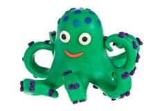 Funny plasticine Octopus Royalty Free Stock Image
