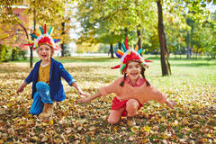 Funny play royalty free stock images
