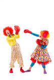 Funny playful clown Royalty Free Stock Photo
