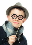 Funny portrait of a boy Stock Image