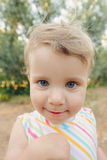 Funny Portrait of Girl Royalty Free Stock Images