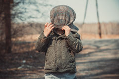 Funny portrait of a kid Royalty Free Stock Images