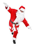 Funny pose of santa claus Royalty Free Stock Photo