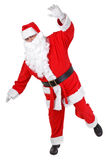Funny pose of santa claus Royalty Free Stock Image