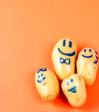 Funny potato Stock Photos