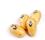 Funny potato Stock Images