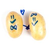 Funny potato Royalty Free Stock Photography