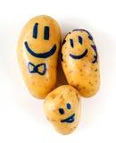 Funny potato Royalty Free Stock Photo
