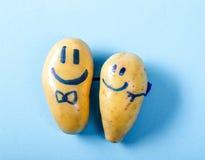 Funny potato Royalty Free Stock Image