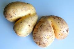 Funny potatoes Stock Photo