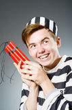 Funny prison Stock Images