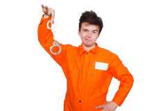 Funny prison inmate Stock Photos