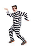 Funny prison inmate Royalty Free Stock Photography