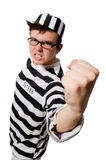 Funny prison inmate Stock Images