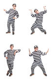 The funny prison inmate in concept Royalty Free Stock Images