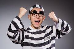 Funny prisoner Stock Photos