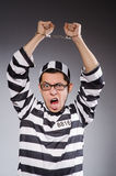 Funny prisoner Royalty Free Stock Photography