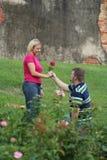 Funny Proposal. Strange Proposal Stock Photos