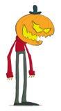 Funny pumpkin Royalty Free Stock Photography