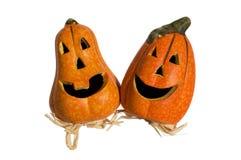 Funny pumpkins Stock Photography