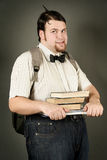 Funny pupil Stock Photo