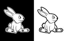 Funny Rabbit Mascot Royalty Free Stock Photography