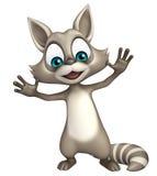 Funny Raccoon cartoon character Royalty Free Stock Photography