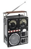 Funny radio nostalgic styled Stock Photography