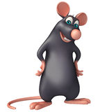 funny Rat cartoon character Stock Images
