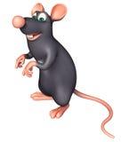 funny Rat cartoon character Stock Photography