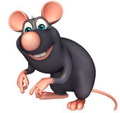 funny Rat cartoon character Royalty Free Stock Images