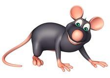 funny Rat cartoon character Stock Image