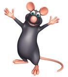 funny Rat cartoon character Royalty Free Stock Photos