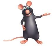 funny Rat cartoon character Stock Photos